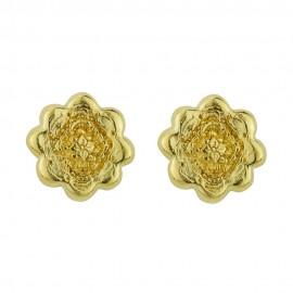 kolczyki Flowering Mandala