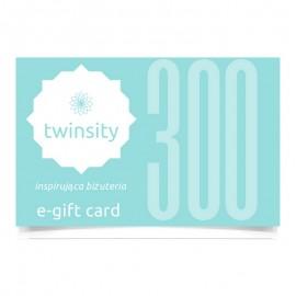 TWINSITY E-GIFT CARD 300PLN