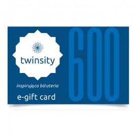 TWINSITY E-GIFT CARD 600PLN